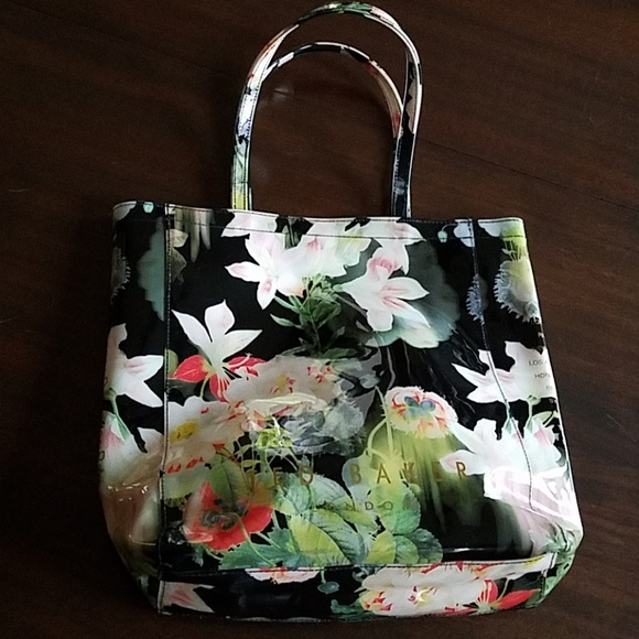 915ebcb8ffd Ted Baker London Bags | Ted Baker Floral Tote | Poshmark